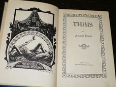 Book Anatole France 'Thais' 1931 by booksvintage on Etsy, $12.00