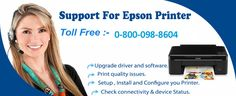 If you need to Troubleshooting Common Printer Issues of Epson and HP then call us on Toll Free Number 0-800-098-8604. Our expert Technician will help to get rid of the problem.