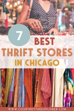 The BEST thrift stores in Chicago - the cheapest, the trendiest, the best for clothes, the largest, and more! Check out the 7 thrift stores you need to check out. Chicago Travel, Local Events, Best Cities, Budget Travel, Thrifting, Good Things, Store, Clothes, Outfits