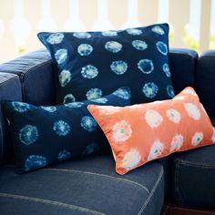 Tie Dye Dot Pillow Cover | PBteen