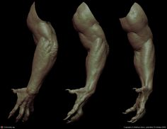 arm details by Mathieu Aerni | 3D | CGSociety