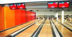 BioClad - hygienic wall cladding fitted in a bowling alley, protected with BioCote® technology