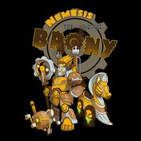 """""""Nemesis the Original Brony"""" by bliz. [Mashup of My Little Pony 'Bronies' & Nemesis, a villain from PC videogame 'City of Heroes/Villains'] [Themed Tees Sold at Unamee]"""