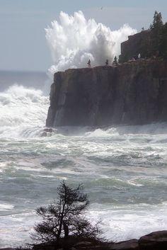 Hurricane Bill Acadia National Park