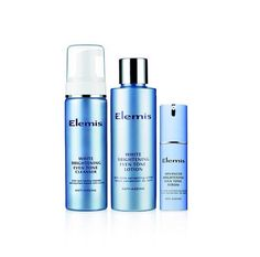 New products to the Elemis brightening range! White brightening even tone cleanser and lotion :-)