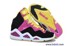 Womens shoes Black Pink Reebok CL Chi-Kaze Online