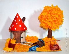 Autumn Crafts, Fall Crafts For Kids, Diy For Kids, Craft Stick Crafts, Easy Crafts, Diy And Crafts, Cardboard Crafts, Paper Crafts, Bunny Crafts