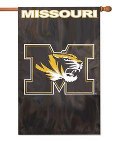 Missouri Tigers Appliqué Banner Flag #zulily #zulilyfinds