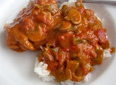 Chicken Paprikash..Love me some Hungarian food!! <3