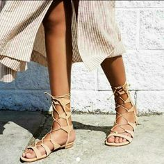 d5a71930940 Schutz Lina Lace Up Gladiator Sandals at Free People Clothing Boutique