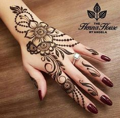 Simple Mehndi Design Images Gallery - Simple Mehndi Designs for Hands Images Easy to Draw for Beginner. new mehndi design that suitable for beginner Modern Mehndi Designs, Mehndi Design Photos, Mehndi Designs For Fingers, Beautiful Mehndi Design, Henna Tattoo Designs, Mehandi Designs, Arabic Henna Designs, Best Henna Designs, Simple Henna Designs
