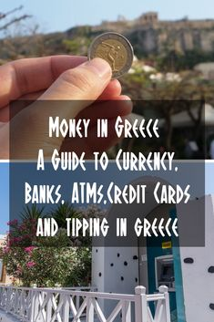 greece travel Everything you need to know about money in Greece, including ATM, money exchanges, using credit cards and tipping in Greece. Greece Vacation, Greece Travel, Greece Trip, Honeymoon In Greece, Honeymoon Places, Honeymoon Ideas, Europe Travel Tips, European Travel, Travel Destinations
