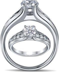 Bridge Engagement ring