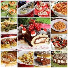 Ricette semplici e golose di Natale, una raccolta ricca di tante sfiziose idee, a base di pesce e carne, dove il dessert non può certo mancare!