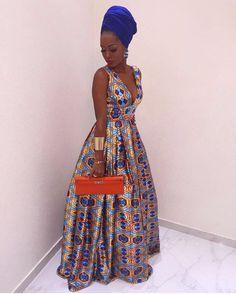 African Queen @helga.vieiradias #StyleMeAfrica