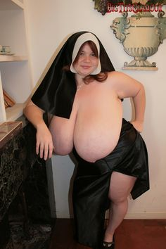 Big breasts real nun with