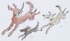 Three Dogs from Ten Frogs by Quentin Blake