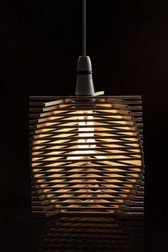 Shade designed by Seyhan Kekec for Plumen 001 light bulb. Plumen and Middlesex University Collaboration. #Plumen MDX