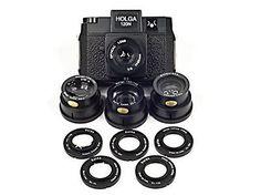 Holga 120N Camera Super Lens Kit Bundle
