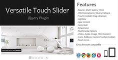 Versatile Touch Slider jQuery Plugin