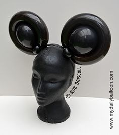 My Daily Balloon: 29th July - Mouse Ears