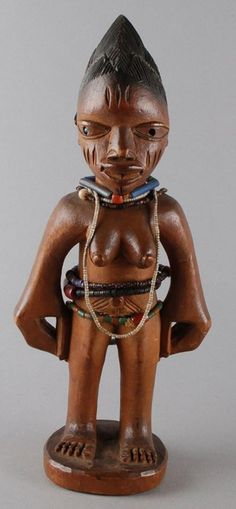 Yoruba Ere Ibeji (Twin Figure), Egba - Abeokuta, Nigeria http://afriart.tumblr.com/post/91778749154/nigeria-yoruba-ere-ibeji-twin-figure-egba