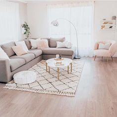 Serious living room envy via Karen Darling.inspire featuring our White Mo… Serious living room envy via Karen Darling.inspire featuring our White Moroccan Pouf and White Knot Cushion✨✨ Boho Living Room, Home And Living, Living Room Decor, Living Rooms, First Apartment Decorating, Living Room Inspiration, Apartment Living, Apartment Ideas, Home Design