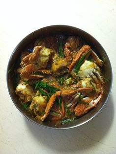 Spicy Chilli Crabs With Chives