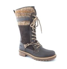 Bos  Co Caird Womens Winter Waterproof Snow Boot Dark BrownCoffee LeatherSuedeSweater Size 37 EU ** Check out this great product.