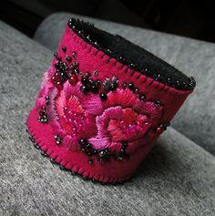 vintage style  fuchsia (proj. agat.handmade), do kupienia w DecoBazaar.com