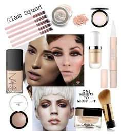 """Glam Squad"" by felicitysparks ❤ liked on Polyvore featuring beauty, L'Oréal Paris, Marc Jacobs, MAC Cosmetics and NARS Cosmetics"
