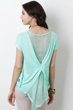 Urban Zest Top. The back so cute, the front ehh not so much.