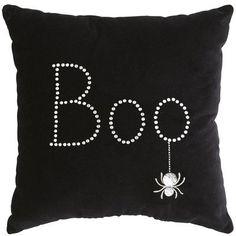 Boo Halloween Pillow from Pier 1
