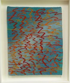 Water Dance tapestry by Louise Oppenheimer available at http://www.creativeartsgallery.com/art/tapestry-textile-art/water-dance/