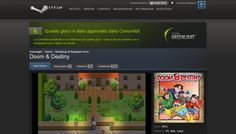 Doom & Destiny was approved on Steam Greenlight! #indiegames #videogames #gamesinitaly