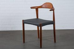 Six Danish Modern Teak Dining Chairs by Harry Ostergaard For Sale at 1stdibs