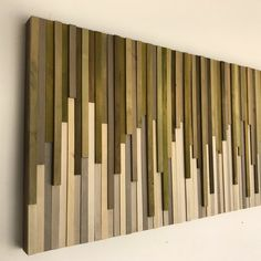 Wall Art - Wood Wall Art -  Rustic Wood Sculpture Wall Installation 46X22 - SALE - 15% OFF with COUPON code