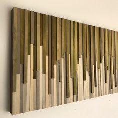 Kunst Holz Wand rustikale Holz-Skulptur Wand Wandmontage