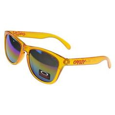 8c3f62f07d2 Cheap Oakley Frogskin Sunglasses Yellow Frame Purple Lens For Sale   Fake  Oakleys 20.89 Sunglasses Store