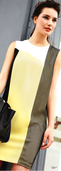 DKNY Color Block Dress | The House of Beccaria~