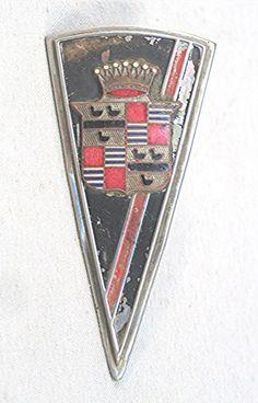 Cadillac Car Badge.Classic Car Art&Design @classic_car_art #ClassicCarArtDesign