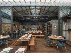 Inspiração Veredas Arquitetura | 8 projetos de bares e restaurantes mexicanos com design e arquitetura incríveis para se conhecer.