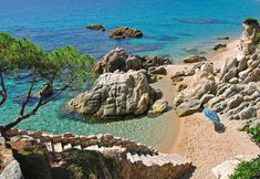 Discover the hidden beaches of Catalonia, from the Costa Brava down to the Costa Dorada. Don't miss these pristine calas and coves outside Barcelona. Hidden Beach, Best Beaches In Portugal, Begur Costa Brava, Destinations, Spain Holidays, Excursion, Sitges, Beaches In The World, Spain And Portugal