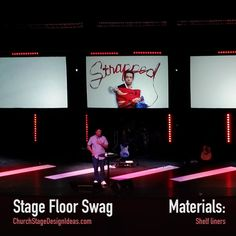 Stage Floor Swag