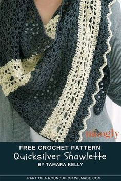 Here you can find a roundup of 10 #crochet #shawls for #spring. All of the shawls are free crochet patterns! > wilmade.com