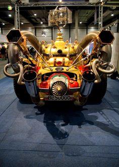 il tempo gigante. Norwegian real car model