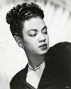 Hazel Scott.  First African American woman to have her own television variety show.