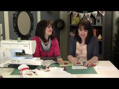 How to Applique - Appliqué Times Two! Sewing Machine Applique & Embroidery Machine Applique