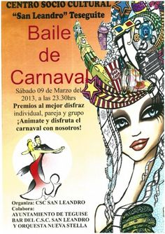 Baile de Carnaval en Teguise - http://gd.is/A9LVpR