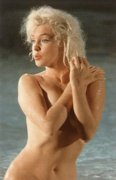 "Famous pool scene from ""Something's Got to Give"", filmed 23rd May 1962.  Marilyn's last unfinished film."